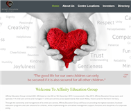 Affinity Education Group Limited Website Link