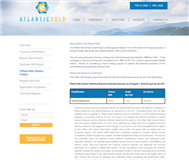 Atlantic Gold Corporation Website Link