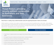 Threat Protect Australia Limited Website Link