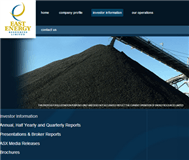 East Energy Resources Limited Website Link