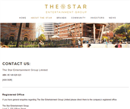 The Star Entertainment Group Limited Website Link