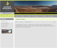 Alliance Resources Limited Website Link