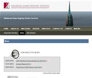 Advanced Share Registry Services Website Link