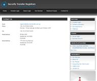 Security Transfer Registrars Pty. Ltd Website Link