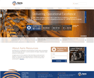 Aeris Resources Limited Website Link