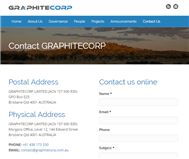 Graphitecorp Limited Website Link