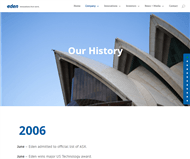 Eden Innovations Limited Website Link