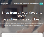 Afterpay Holdings Limited Website Link