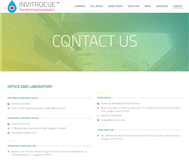 Invitrocue Limited Website Link