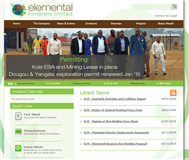 Elemental Minerals Limited Website Link