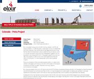 Elixir Petroleum Limited Website Link