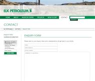 Elk Petroleum Limited Website Link