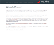 AdAlta Limited Website Link