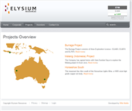 Elysium Resources Limited Website Link