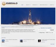 Emerald Resources NL Website Link