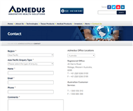 Admedus Ltd Website Link