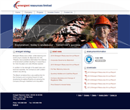 Emergent Resources Limited Website Link
