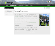 Energia Minerals Limited Website Link