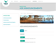 Vimy Resources Limited Website Link