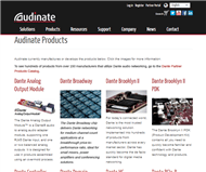 Audinate Group Limited Website Link