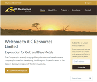 AIC Resources Limited Website Link