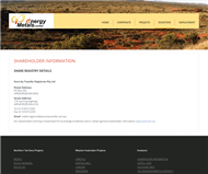 Energy Metals Ltd Website Link