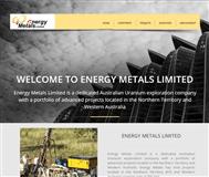 Energy Metals Ltd Website Link