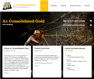 A1 Consolidated Gold Limited Website Link