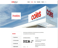 Coles Group Limited Website Link