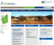 Alto Metals Limited Website Link