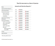 Environmental Group Limited (The) Website Link