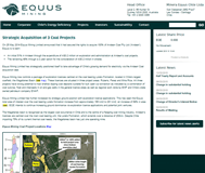 Equus Mining Limited Website Link
