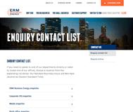 ERM Power Limited Website Link