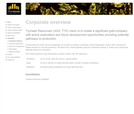 Tychean Resources Ltd Website Link