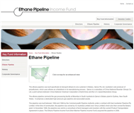 Ethane Pipeline Income Fund Website Link