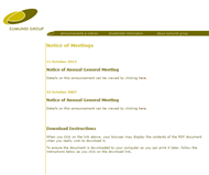Eumundi Group Limited Website Link
