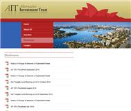 Alternative Investment Trust Website Link