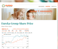 Eureka Group Holdings Ltd Website Link