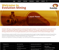 Evolution Mining Limited Website Link