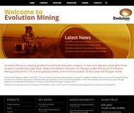 Evolution Mining Limited Website Link
