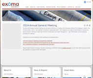 Exoma Energy Limited Website Link