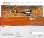 Exterra Resources Limited Website Link
