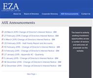 EZA Corporation Ltd Website Link