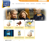 Farm Pride Foods Limited Website Link