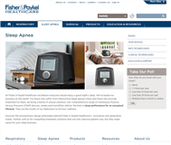 Fisher & Paykel Healthcare Corporation Limited Website Link