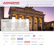 Flight Centre Travel Group Limited Website Link