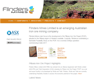 Flinders Mines Limited Website Link
