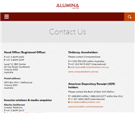 Alumina Limited Website Link