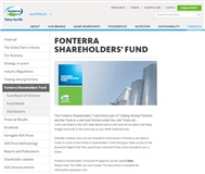 Fonterra Shareholders' Fund Website Link