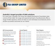 FSA Group Limited Website Link